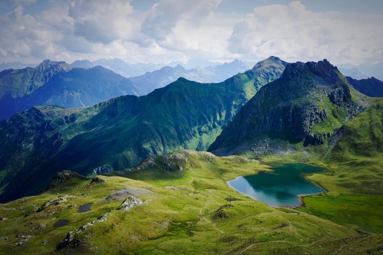Tilisunasee, Rätikon Alps Hut to Hut Hike, Austria