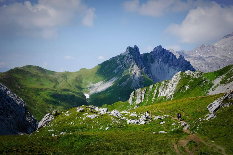Rätikon Alps, Vorarlberg, Austria