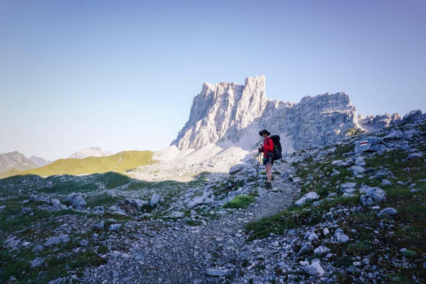 Drusenfluh, Rätikon Alps High Trail Circuit, Switzerland