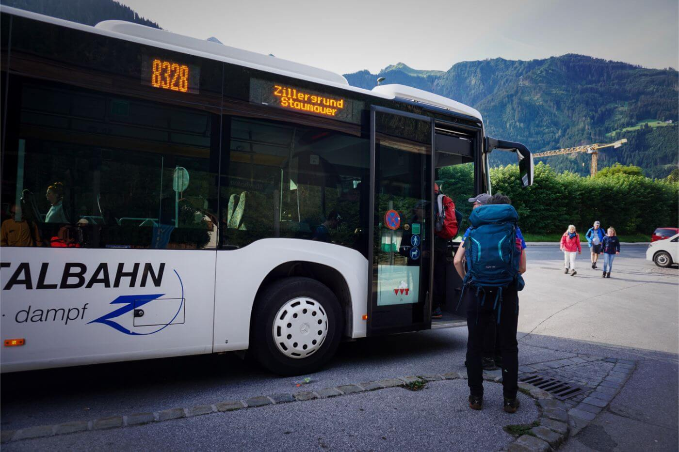 How to get to Speicher Zillergründl by Bus