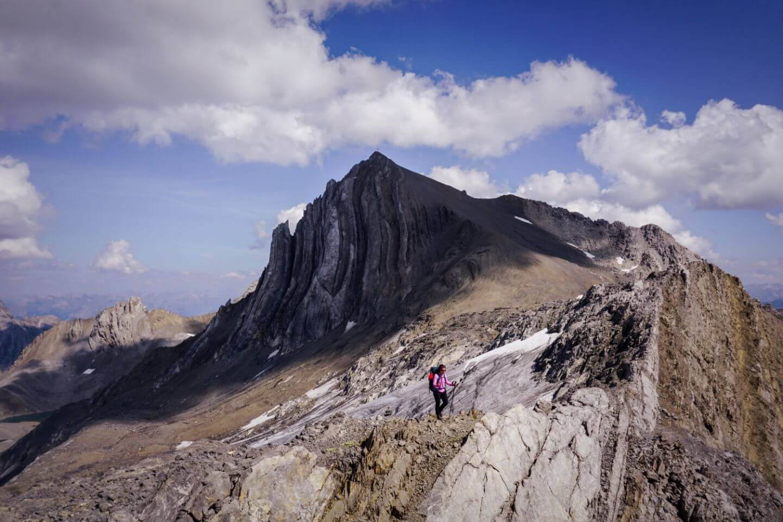 Schesaplana to Mannheimer Hütte trail, Rätikon Alps, Austria