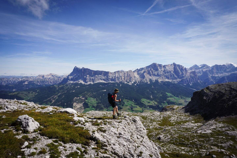 Gherdenacia Plateau, Puez-Odle Day Hike, Dolomites, Italy