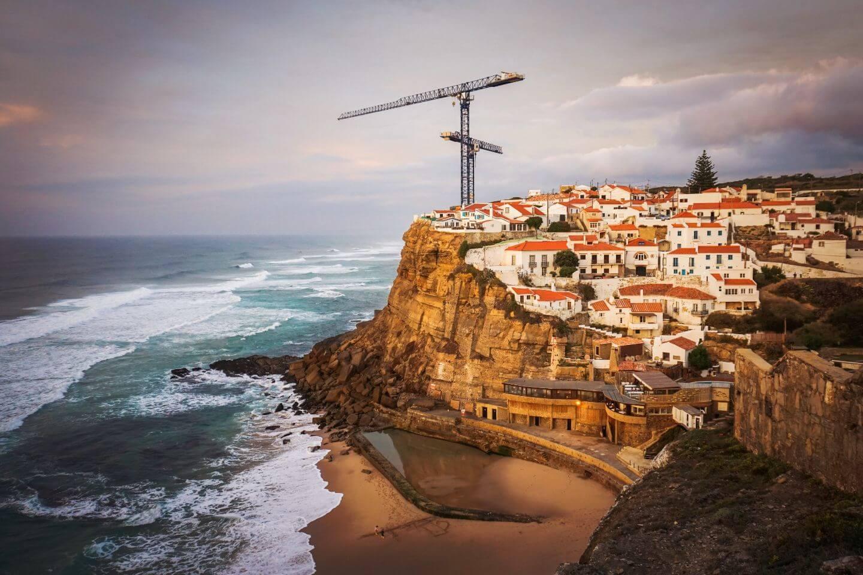 Azenhas do Mar, Portugal, Sintra Coastal Walk