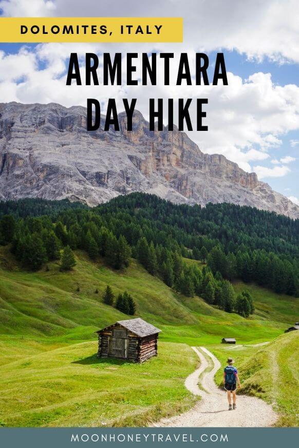 La Crusc - Armentara Day Hike - Easy walk in Badia, Alta Badia, Italian Dolomites