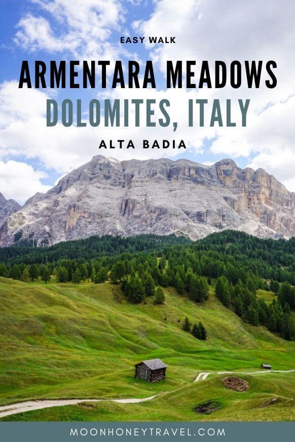 La Crusc - Armentara hike, Alta Badia, Italian Dolomites