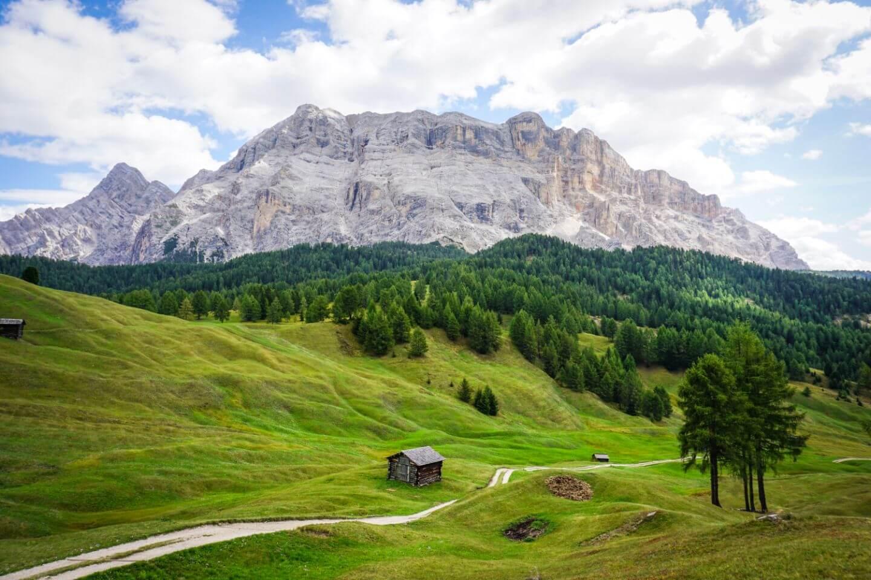 Armentara Plateau, Alta Badia, Dolomites, Italy