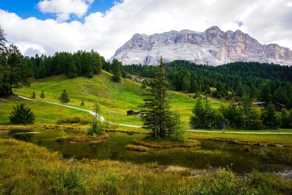 Armentara Meadows, Fanes-Sennes-Prags Nature Park, Italian Alps