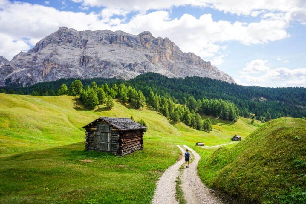 Armentara Meadows Day Hike in Alta Badia, Dolomites, Italy