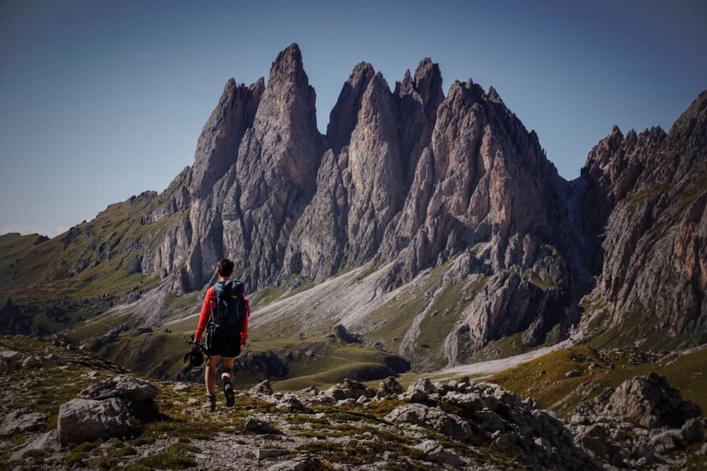 Trail 2, Val Gardena Dolomites, Odle / Geisler Peaks