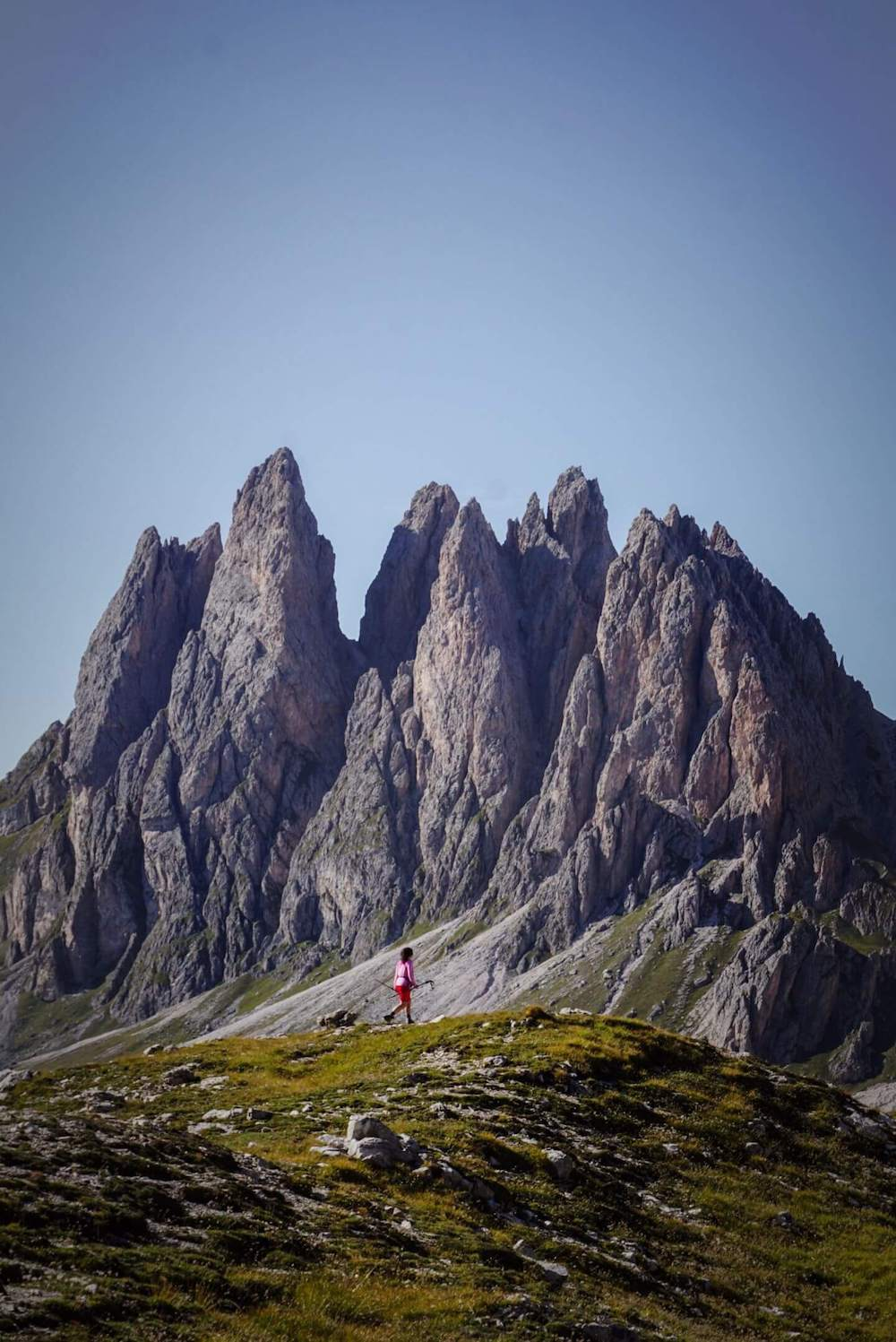 Val Gardena Day Hike - Rifugio Stevia to Col dala Pieres Circuit