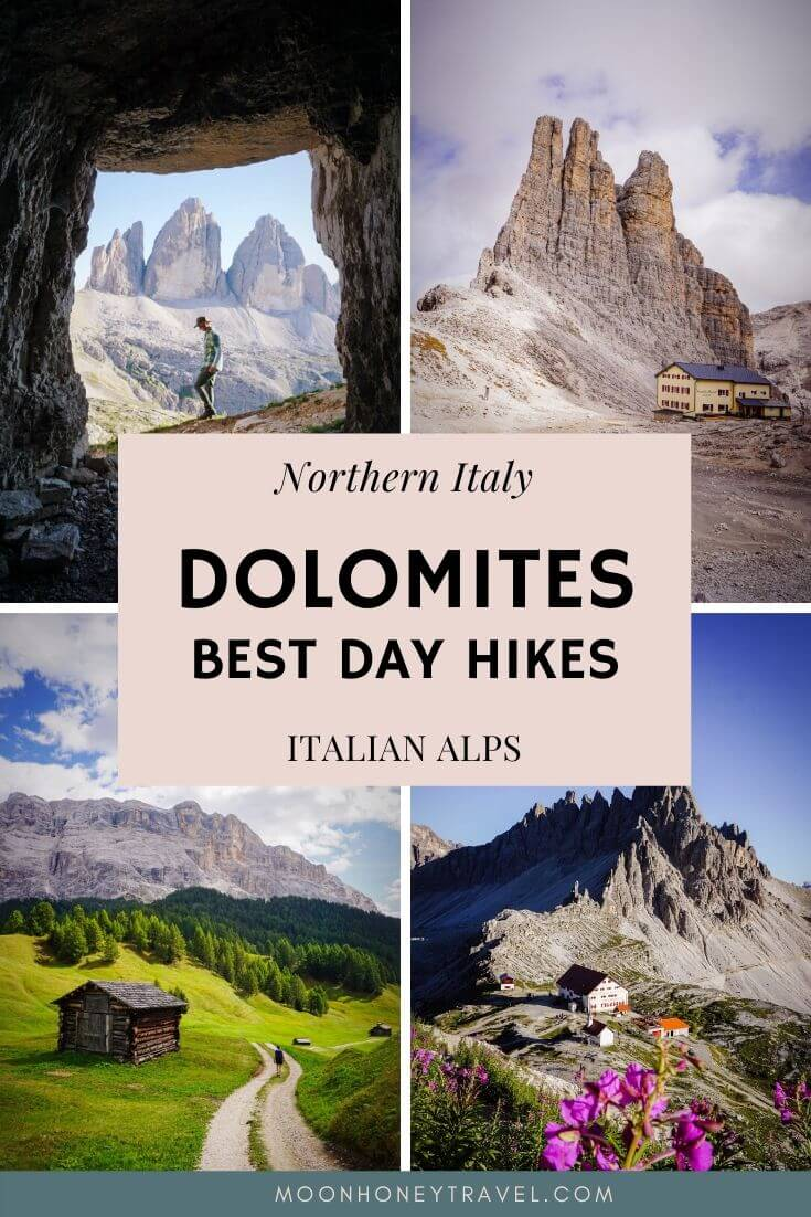 Best Dolomites Day Hikes, Italy