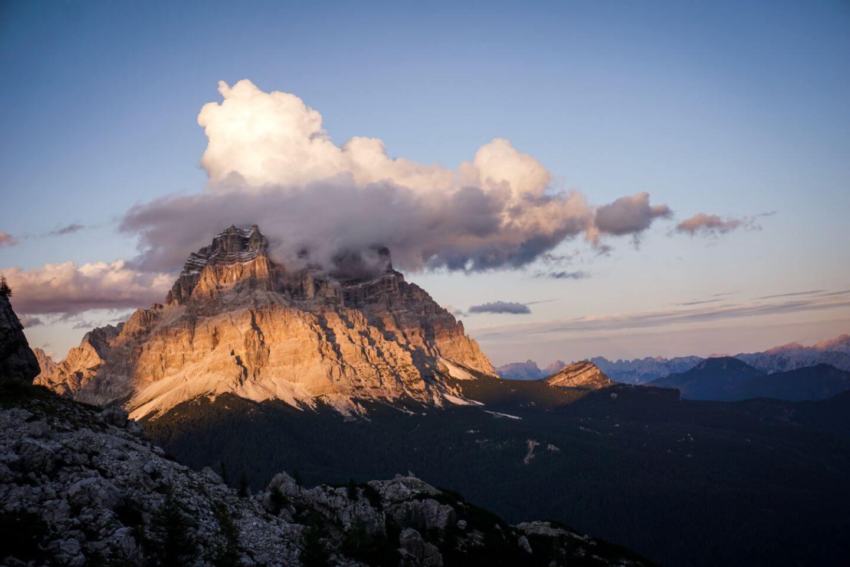Mount Pelmo, Dolomites in September