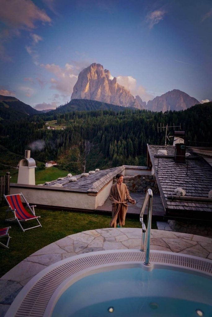 Where to Stay in the Dolomites in Summer - Dorfhotel Beludei in Val Gardena