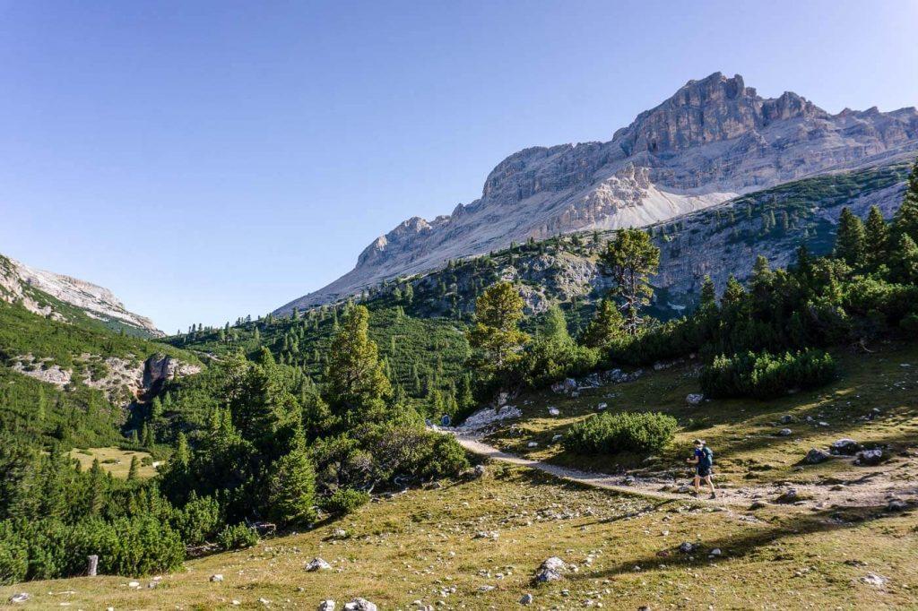 Rifugio Fanes Day Hike, Alta Badia
