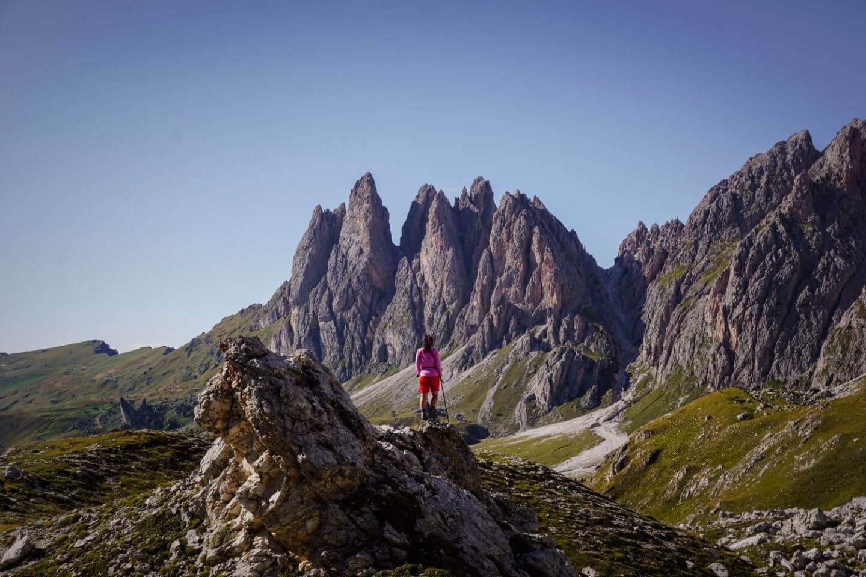 When to hike to Rifugio Stevia and Col dala Pieres, Val Gardena, Dolomites