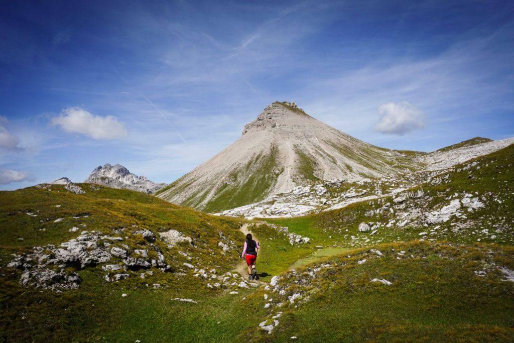 Gherdenacia Plateau Day Hike, Dolomites, Puez-Odle Nature Park