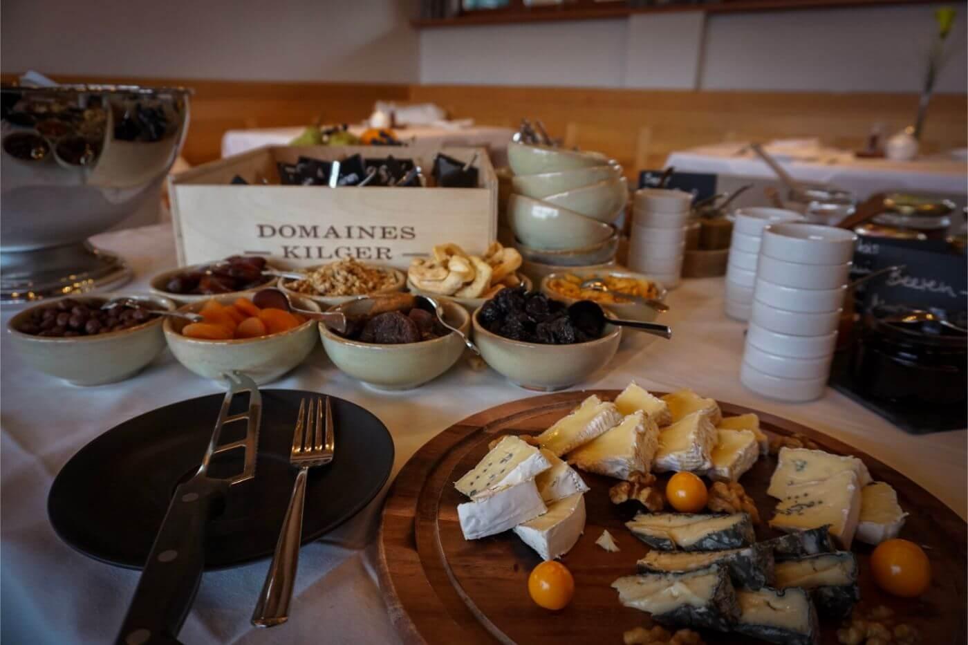 Breakfast Buffet at Jaglhof by Domaines Kilger - South Styria Hotel, Austria