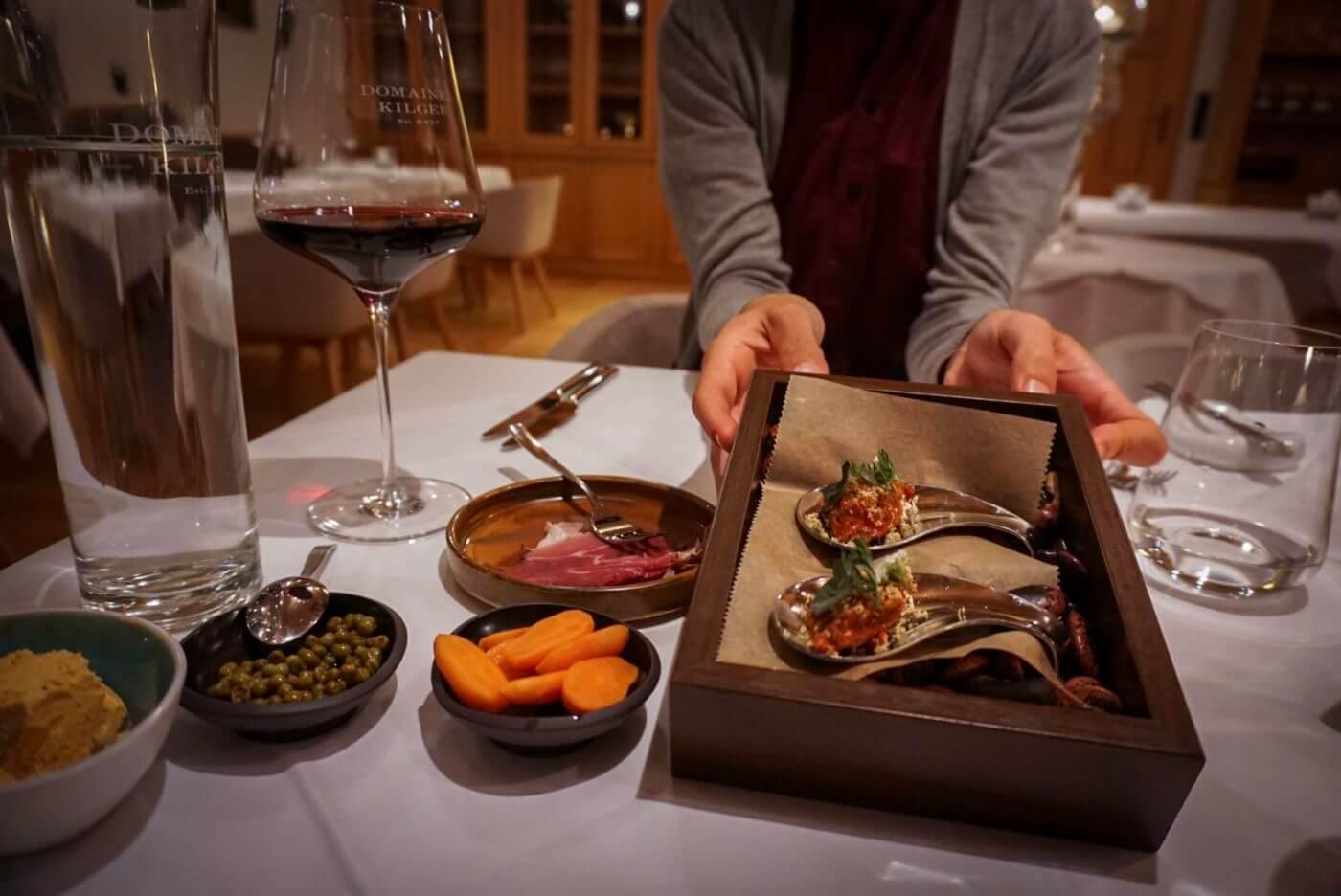 Jaglhof Tasting Menu, South Styria top restaurant, Austria