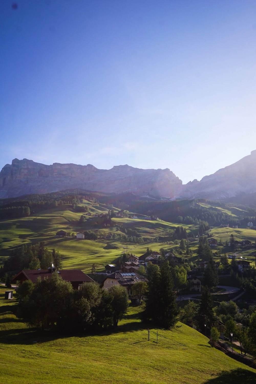 La Villa, Alta Badia, Dolomites