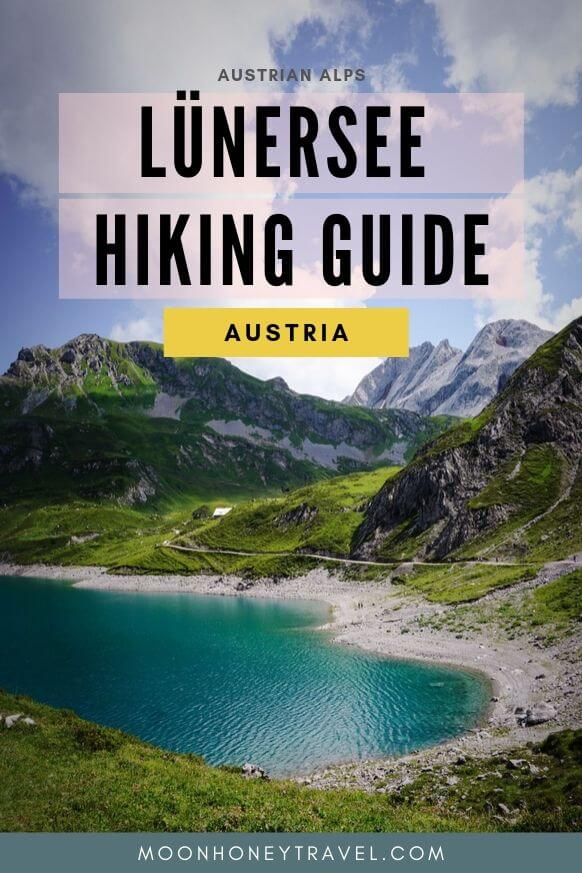 Lünersee Hiking and Walking Guide, Vorarlberg, Austria