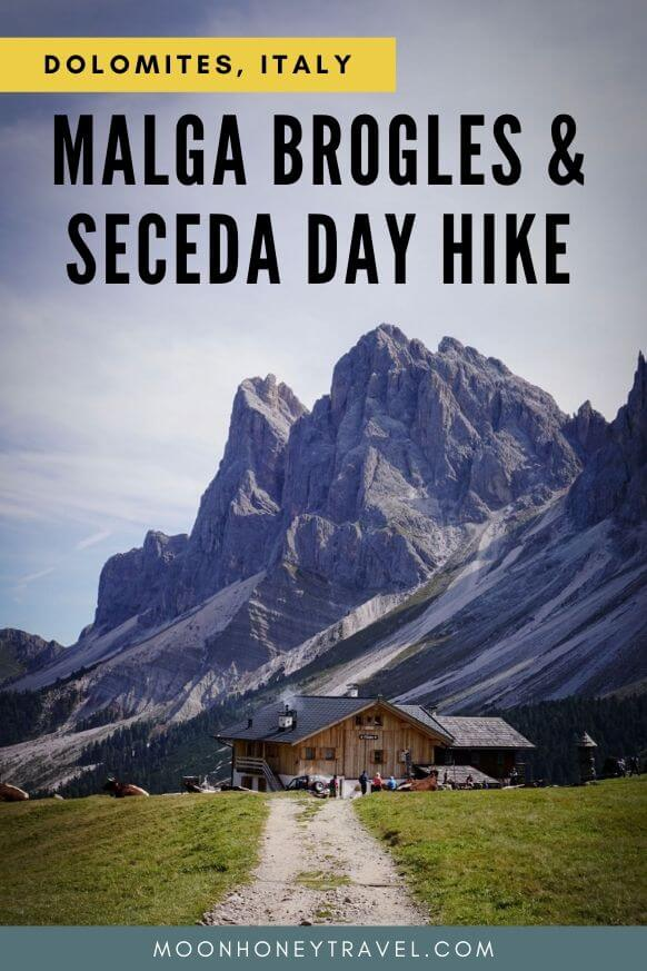Malga Brogles and Seceda Day Hike, Val di Funes to Val Gardena, Dolomies