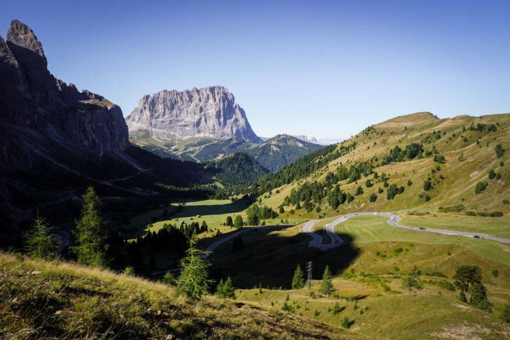 Passo Gardena, Dolomites Road Trip