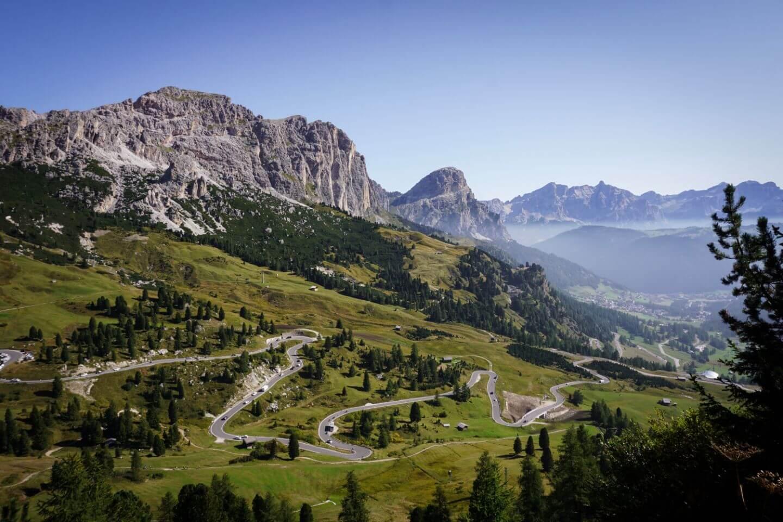 SS243, Passo Gardena, Dolomites Road Trip Itinerary