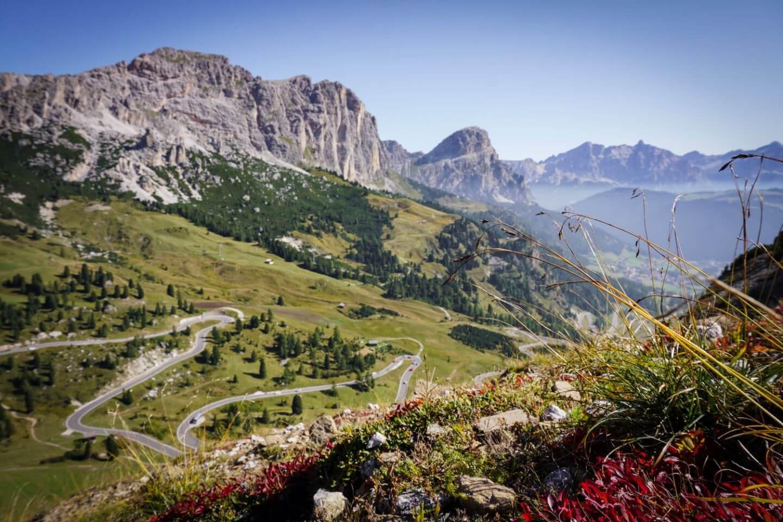 Passo Gardena to Pisciadù Hiking Trail, Dolomites, Italy