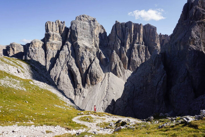 Cima Pisciadù Peak Day Hike, Alta Badia, Sella Group, Dolomites