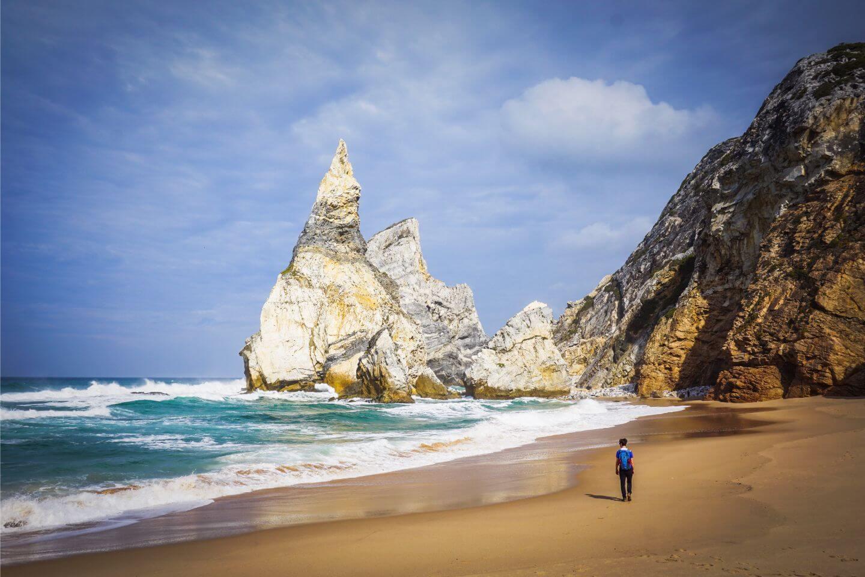 Praia da Ursa Beach, SIntra Coast, Portugal