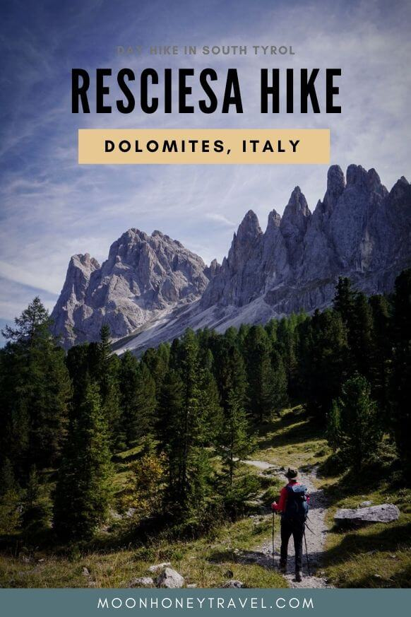 Resciesa Hike, Best Ortisei Day Hike, Dolomites