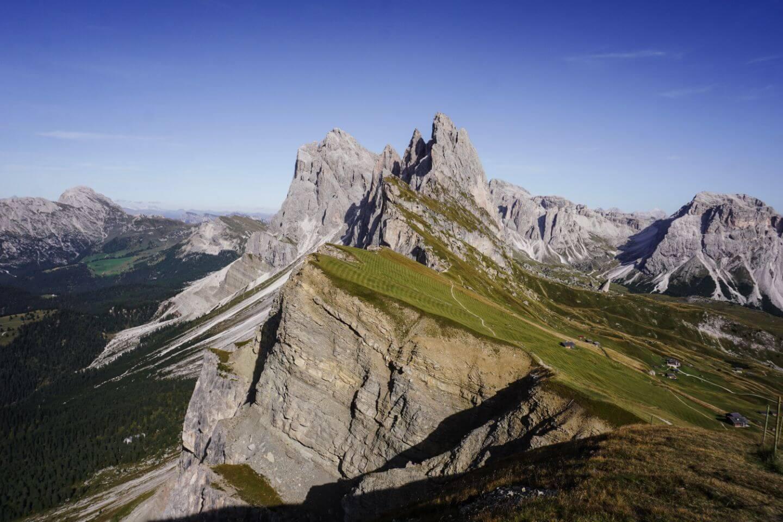 Seceda Ridge Hike, Val Gardena, Italian Dolomites