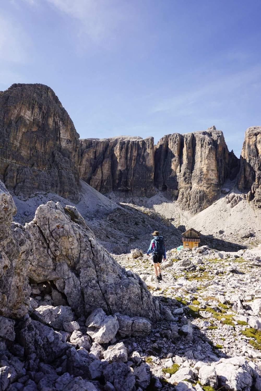 Franz Kostner Day Hike, Sella, Alta Badia, Dolomites