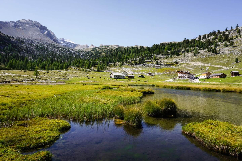 Lavarella Hütte Day Hike, Dolomites, Italy
