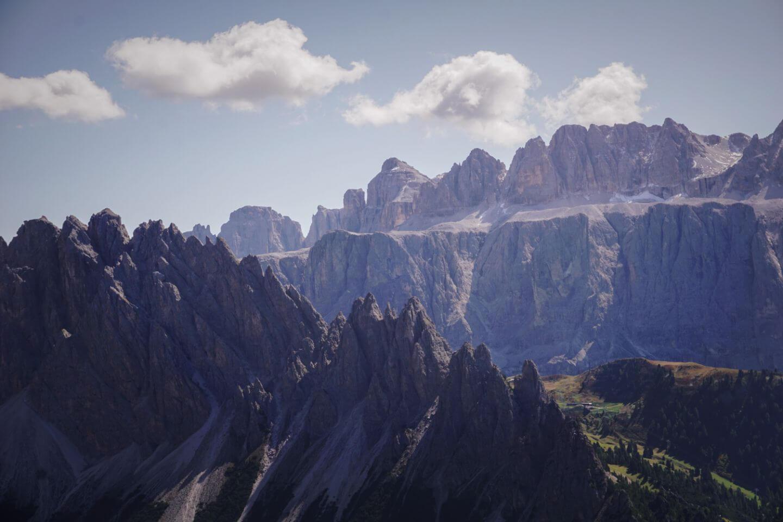 Hike to Col dala Pieres and Rifugio Stevia in Val Gardena, Italian Dolomites