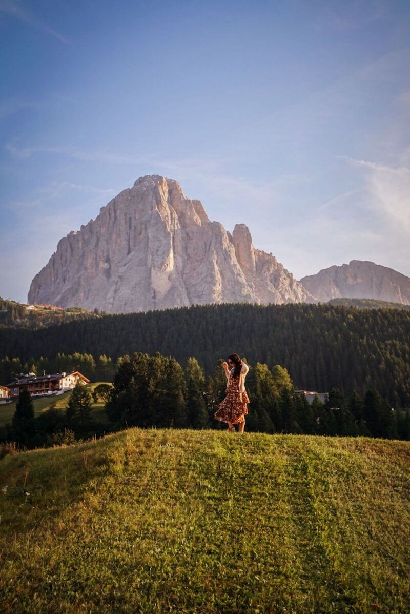 Hotel Rodella, Selva di Val Gardena, September in the Dolomites