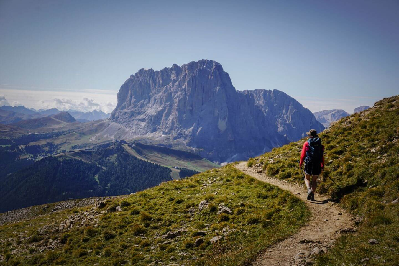 Trail to Rifugo Stevia, Val Gardena, Italian Dolomites