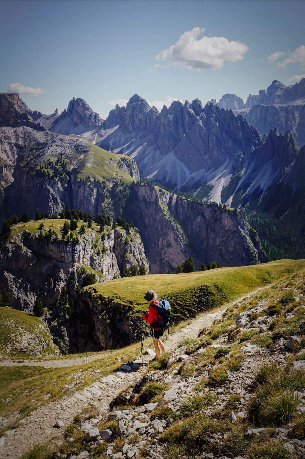 Trail 17 to Col dala Pieres, Val Gardena, Dolomites, Italy