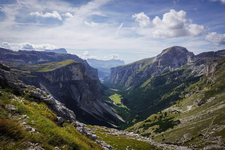 Vallunga / Langental View, Puez-Odle Day Hike, Dolomites