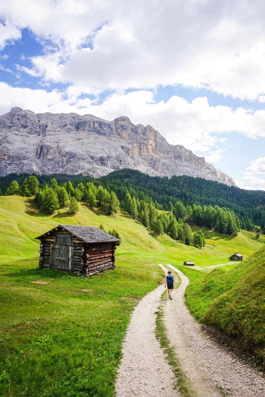 La Crusc - Armentara - Badia Walk, Alta Badia, Dolomites