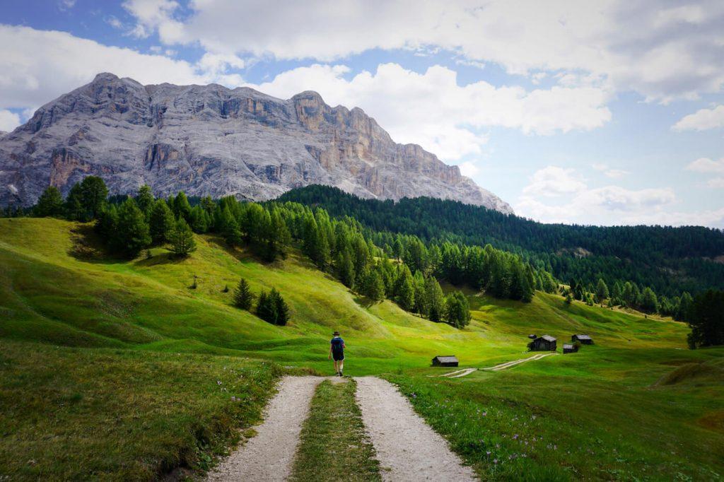 Armentara Meadows Trail, Alta Badia, Best Dolomites Hikes