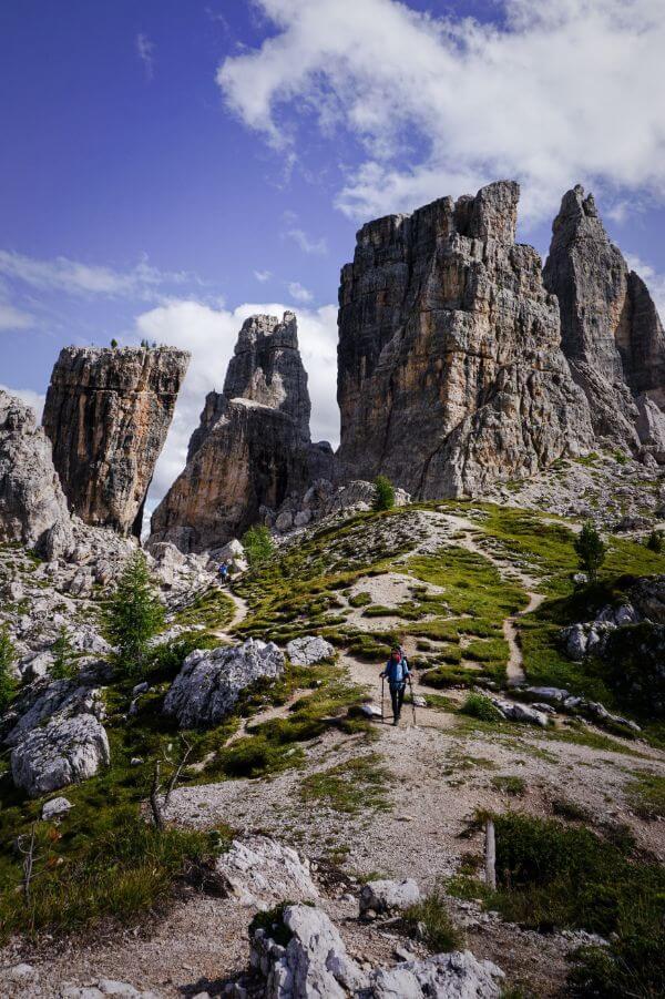 Cinque Torri, Dolomiti Ampezzane, Dolomites