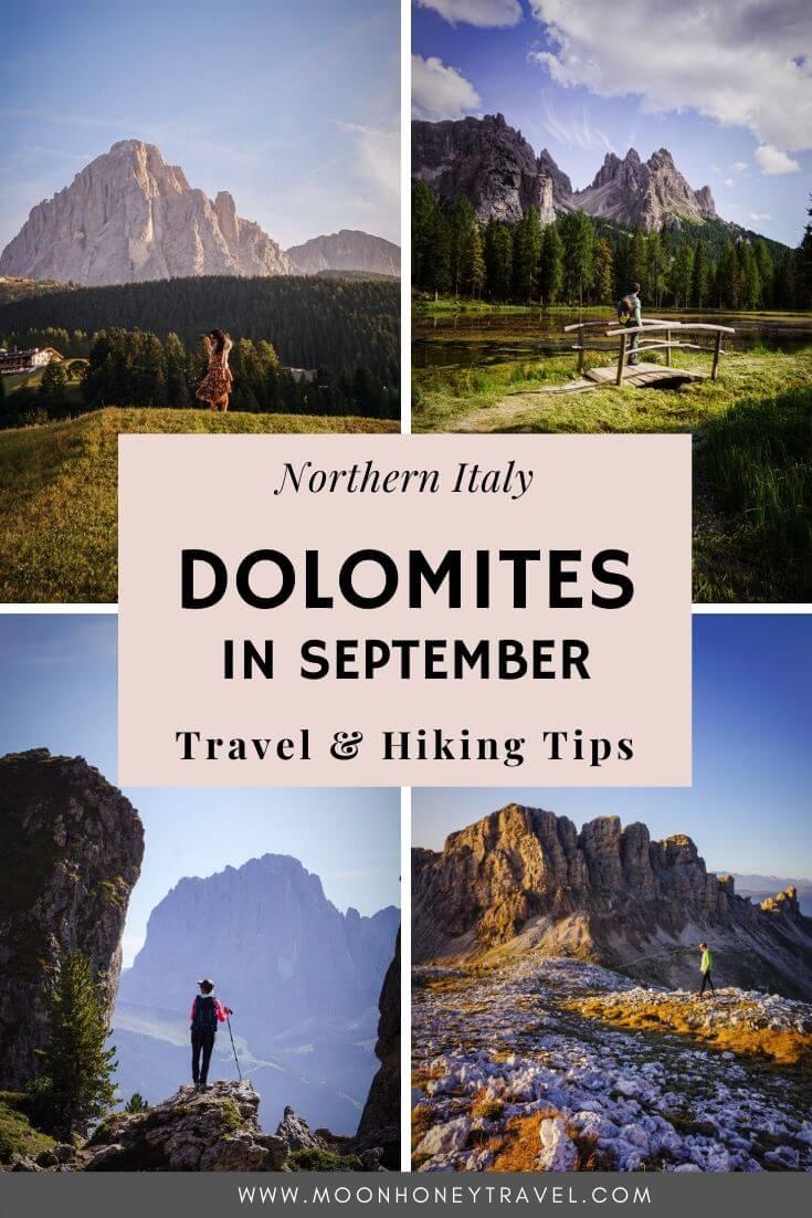 Hiking in the Dolomites in September + Travel Tips