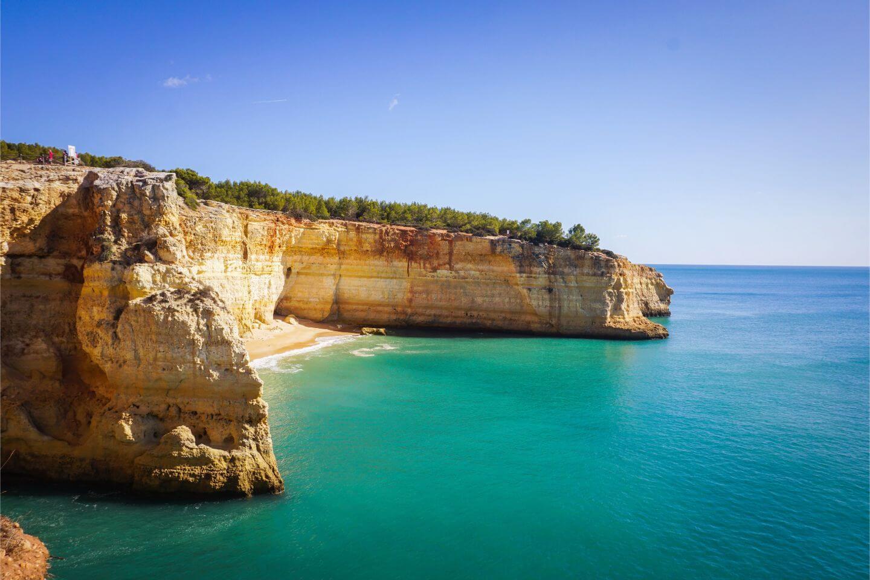 Praia da Corredoura, Seven Hanging Valleys Walk, Algarve, Portugal