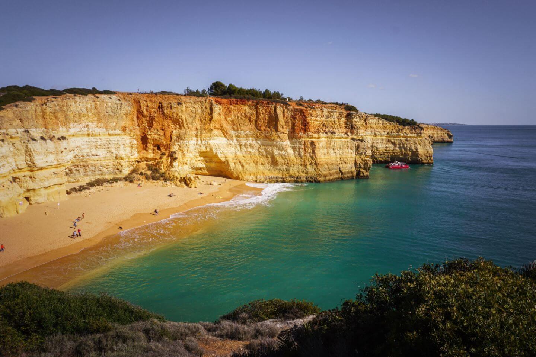 Praia de Benagil, Algarve Coast Walk, Portugal