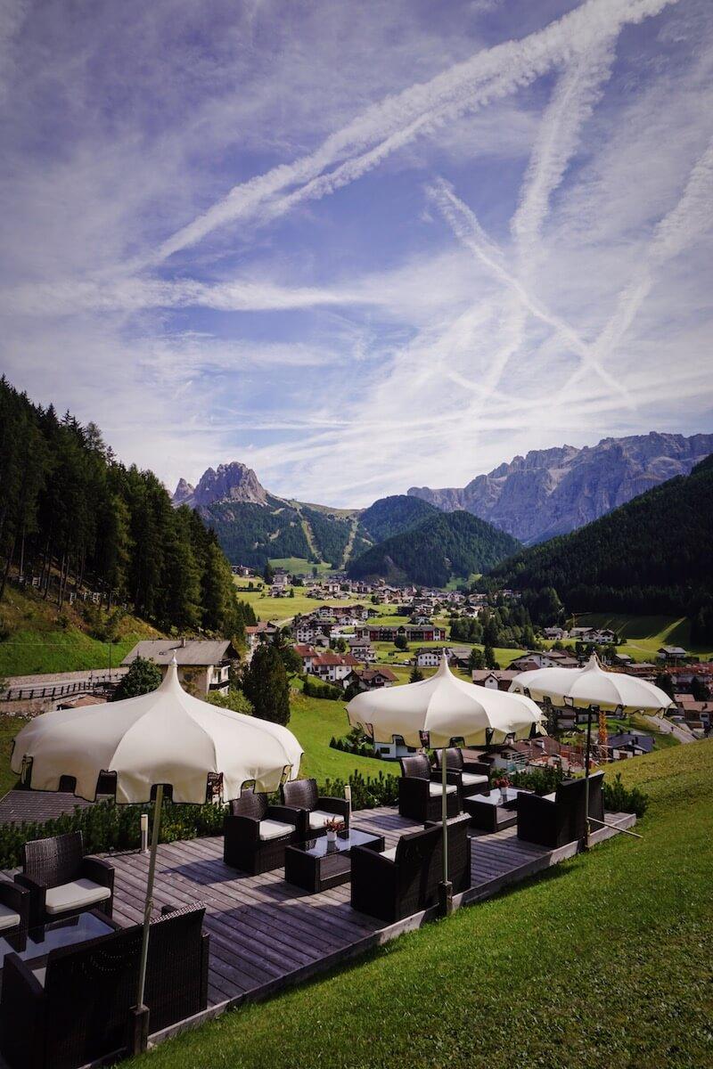 Hotel Rodella, September in the Dolomites