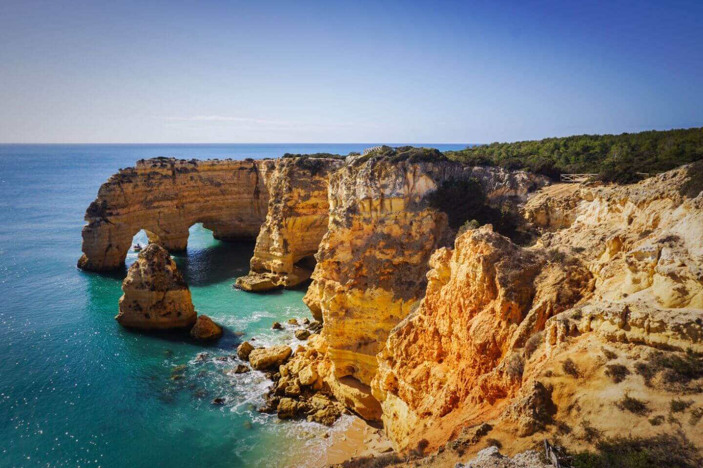 Praia da Marinha, Seven Hanging Valleys Trail, Algarve, Portugal