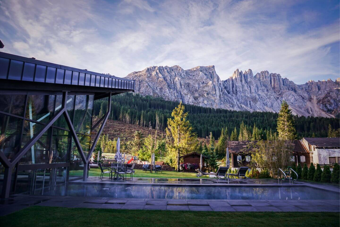 Sporthotel Alpenrose, Carezza, Eggental - Where to Stay in the Dolomites in Summer