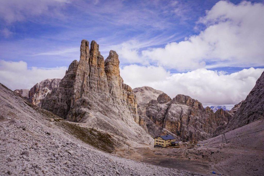 Gartlhütte, Vajolet Towers Day Hike, Italian Dolomites