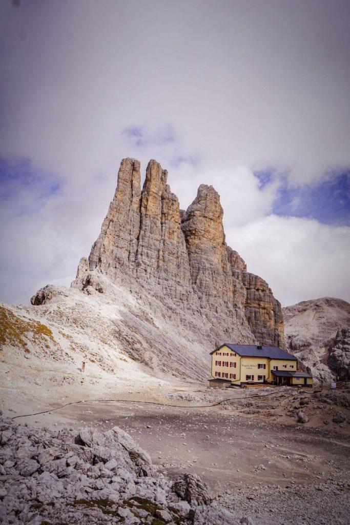 Gartlhütte, Rosengarten Dolomites, Italy